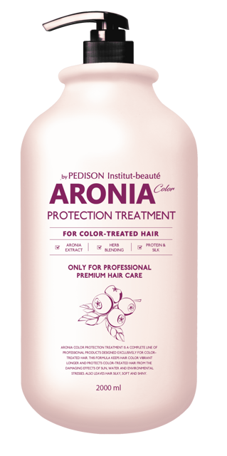[Pedison] Маска для волос АРОНИЯ Institute-beaut Aronia Color Protection Treatment, 2000 мл